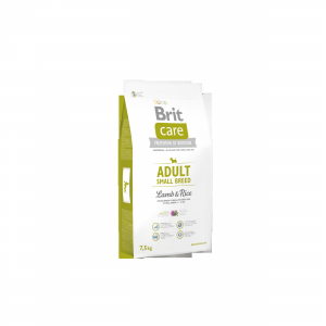 Brit Care Adult Small Breed Lamb & Rice 7,5kg (1)
